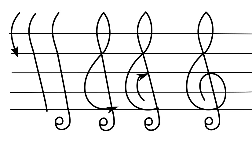 Arnstein Treble Clef.jpg
